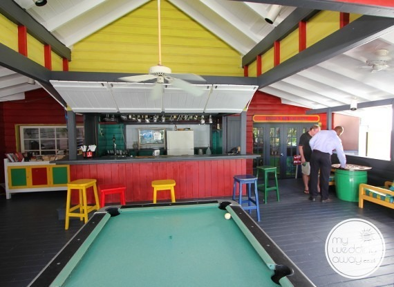 Bar & Pool Table - The Club Barbados Resort wedding venue, St. James, Barbados