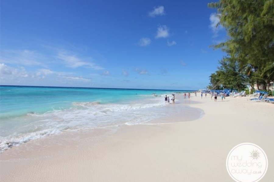 Beautiful sandy beaches - Turtle Beach at St. Lawrence Gap - Barbados wedding venue