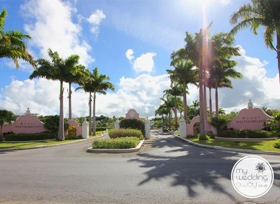 Entrance - The Royal Westmoreland, St. James, Barbados wedding venue