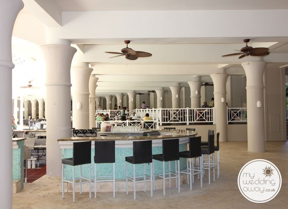 Interior bar - Sandals Barbados at St. Lawrence Gap - Barbados wedding venue