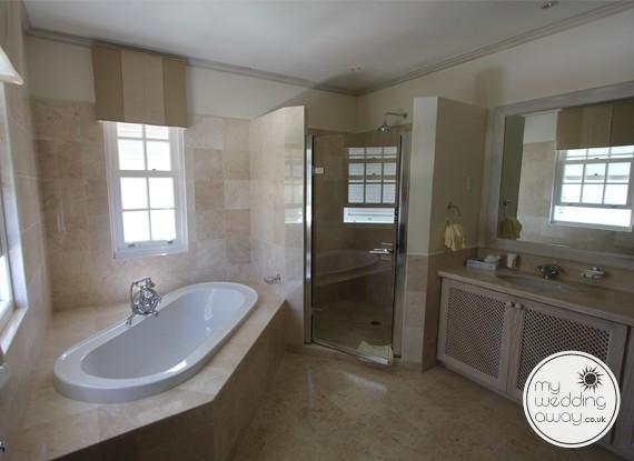 Luxury Villa bathroom - The Royal Westmoreland, St. James, Barbados wedding venue