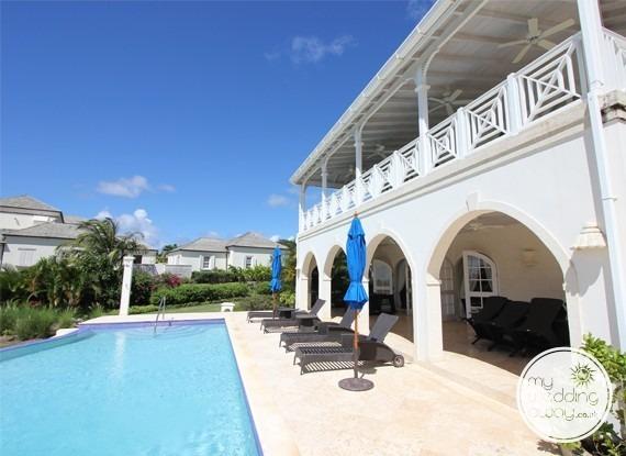 Poolside terrace - The Royal Westmoreland, St. James, Barbados wedding venue