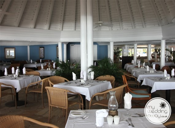 Restaurant - The Club Barbados Resort wedding venue, St. James, Barbados
