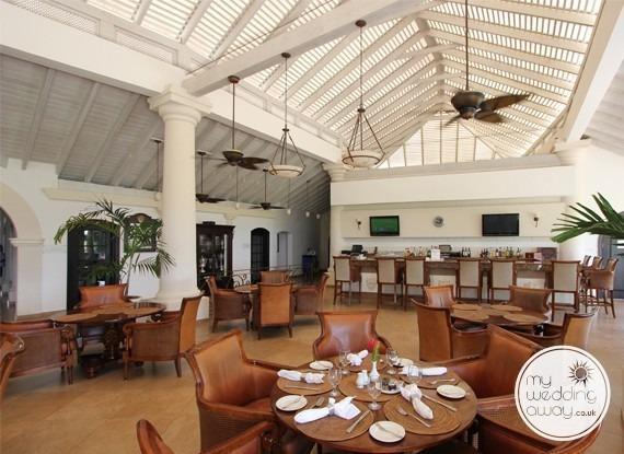 Restaurant- The Royal Westmoreland, St. James, Barbados wedding venue