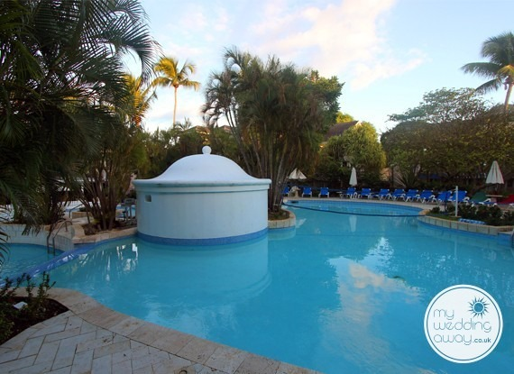 The Pool - The Club Barbados Resort wedding venue, St. James, Barbados