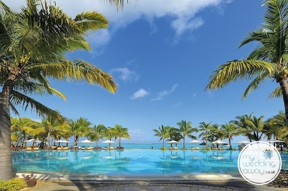 mauritius best wedding destination paradis hotel golf club