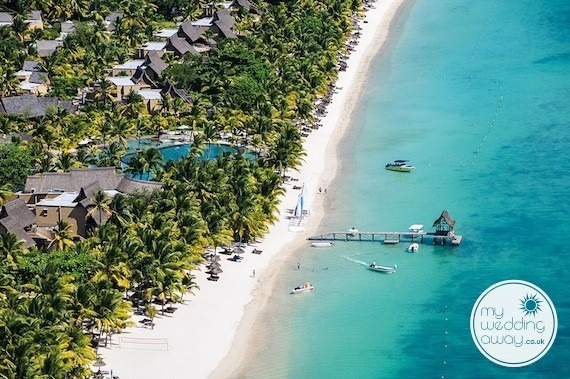 mauritius wedding resorts trou aux biches