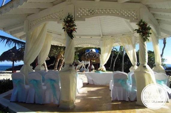 Wedding Gazebo  - Luxury Bahia Principe Caya Levantado, Dominican Republic wedding venue