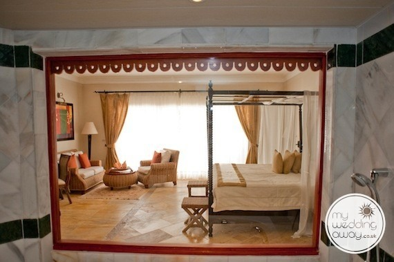 Apartment bathroom - Luxury Bahia Principe Caya Levantado, Dominican Republic wedding venue