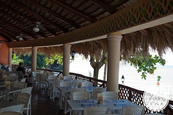 Outdoor restaurant - Grand Bahia Principe Cayacoa, Dominican Republic wedding venue
