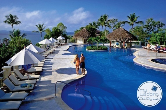 Poolside - Grand Bahia Principe Cayacoa, Dominican Republic wedding venue
