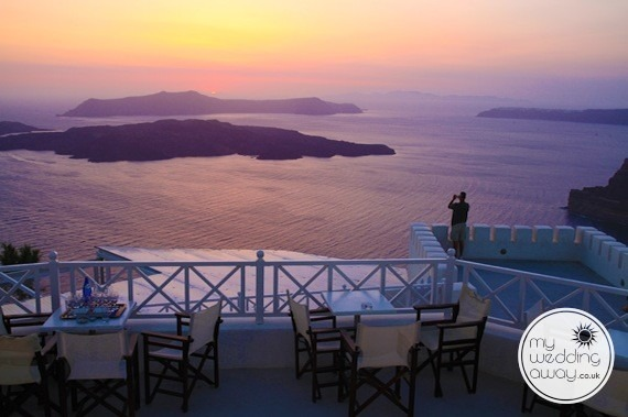 Santo Winery Santorini Wedding Destinations