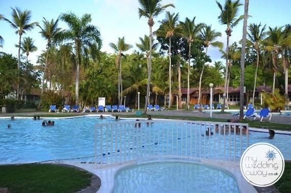 The Pool - Grand Paradise Samana, Dominican Republic wedding venue