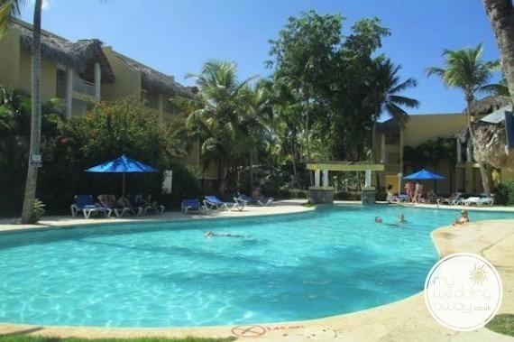 Poolside - Grand Paradise Samana, Dominican Republic wedding venue
