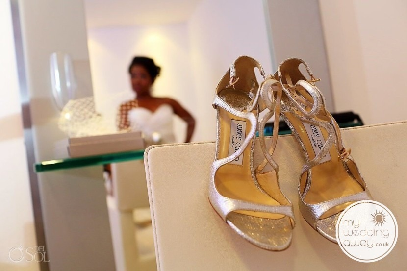 Open Toe Wedding Shoe