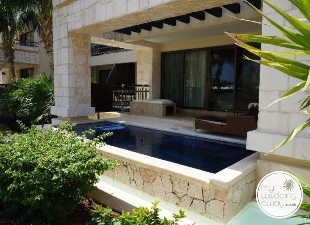 private swim out suite Dreams Riviera Cancun
