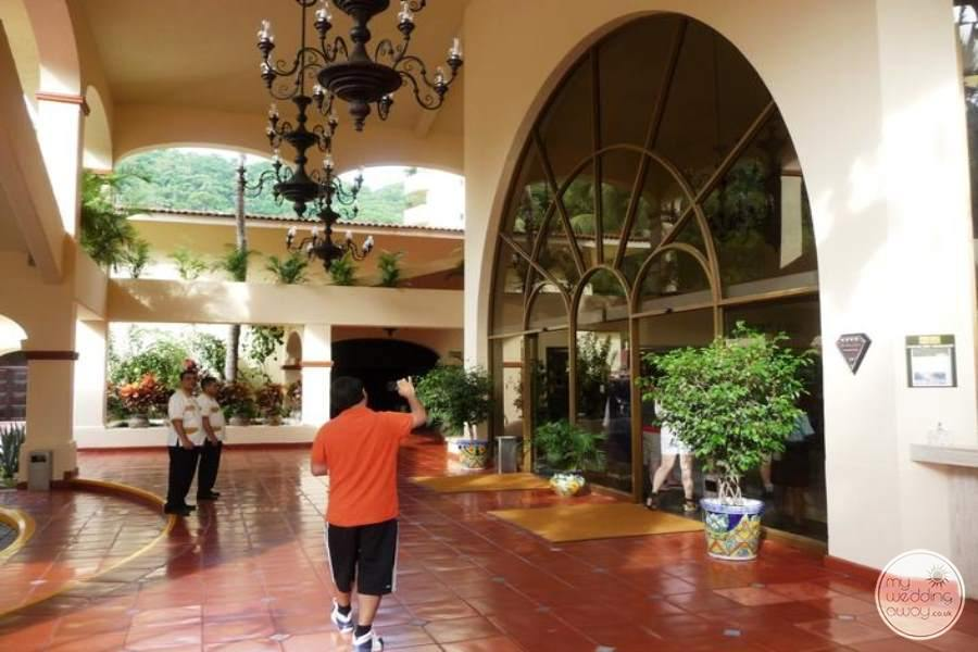 Barcelo Puerto Vallarta Front Entry