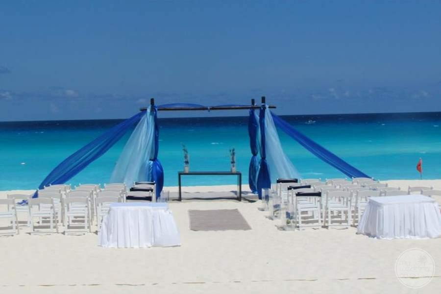 Beach Palace Beach Wedding Area