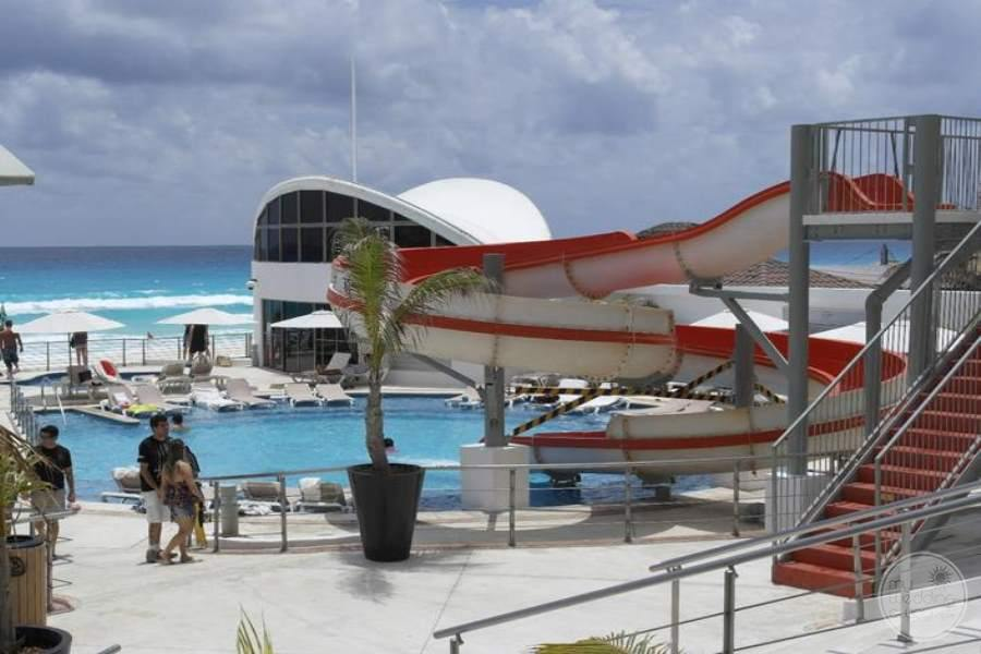 Beach Palace Water Slide