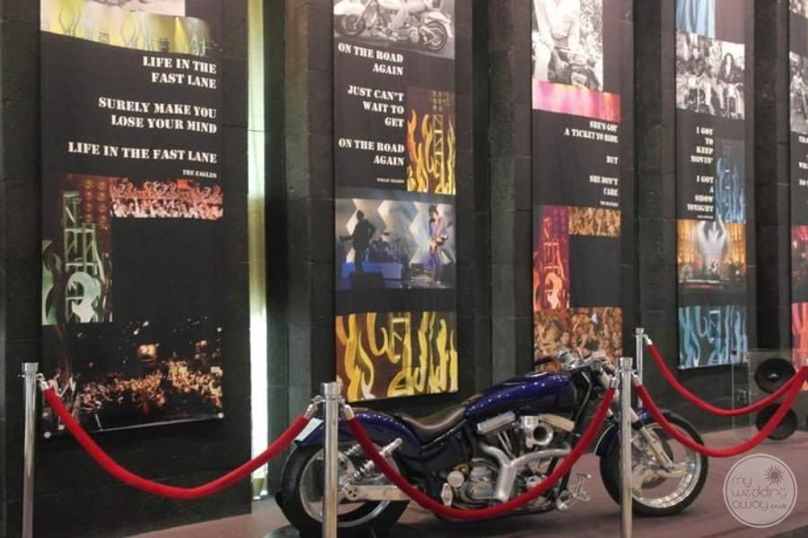 Hard Rock Hotel Cancun Lobby Display