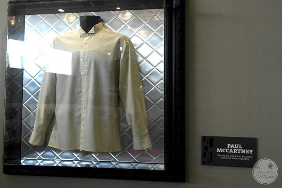 Hard Rock Hotel Cancun McCartneys Display