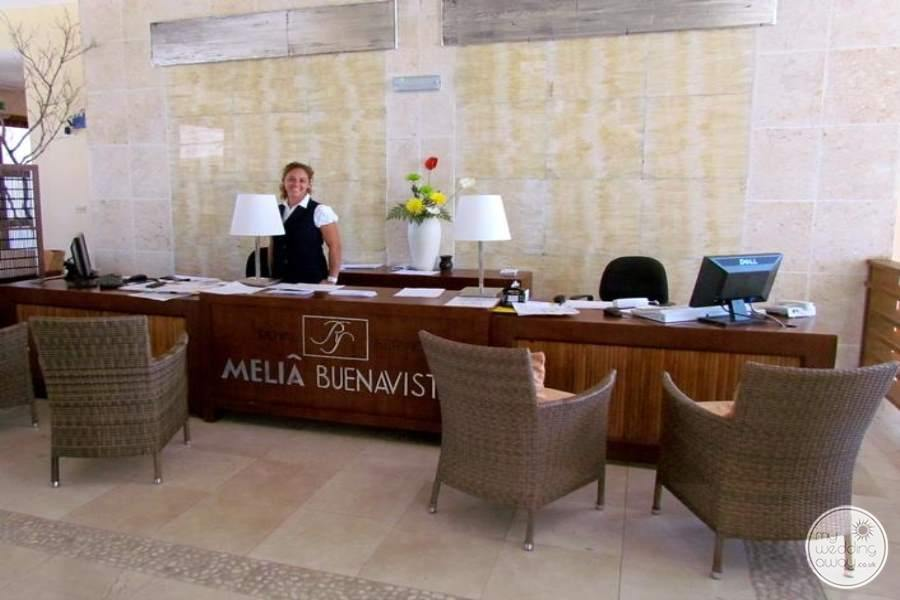 Melia Buenavista Check In