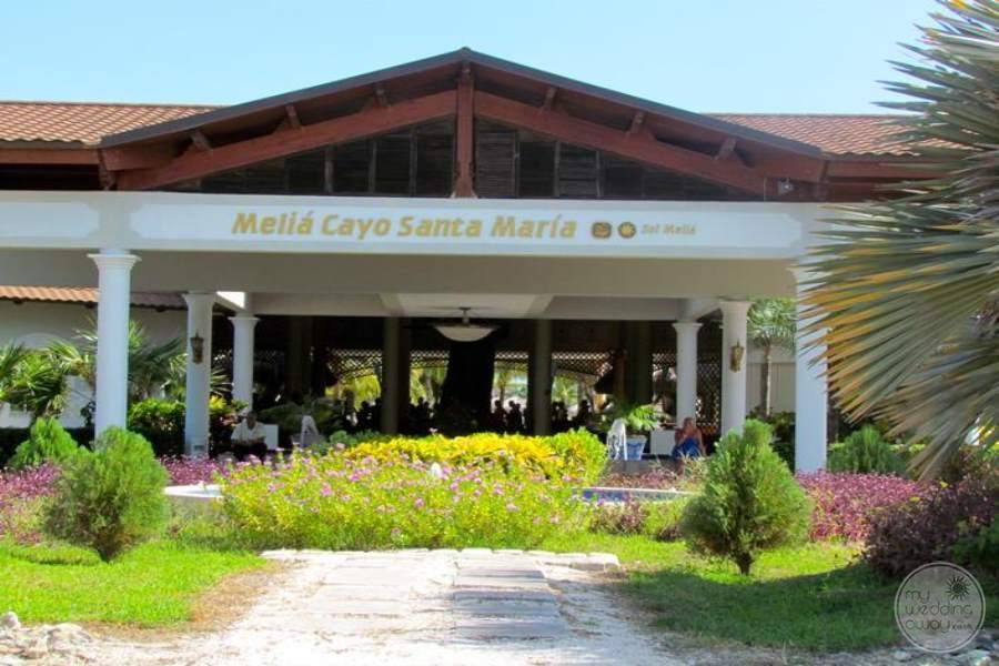 Melia Cayo Santa Maria Entrance