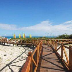 Melia Las Dunas Beach Walkway