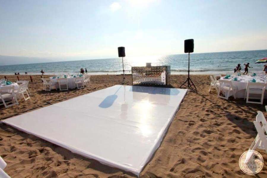 Now Amber Beach Dance Floor