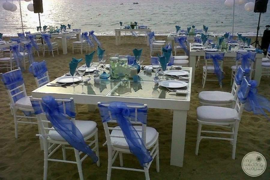 Now Amber Beach Wedding Reception