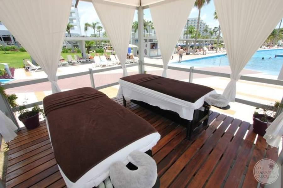 Riu Palace Peninsula Massage Beds