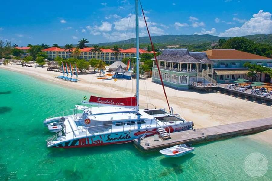 Sandals Montego Bay Aerial View