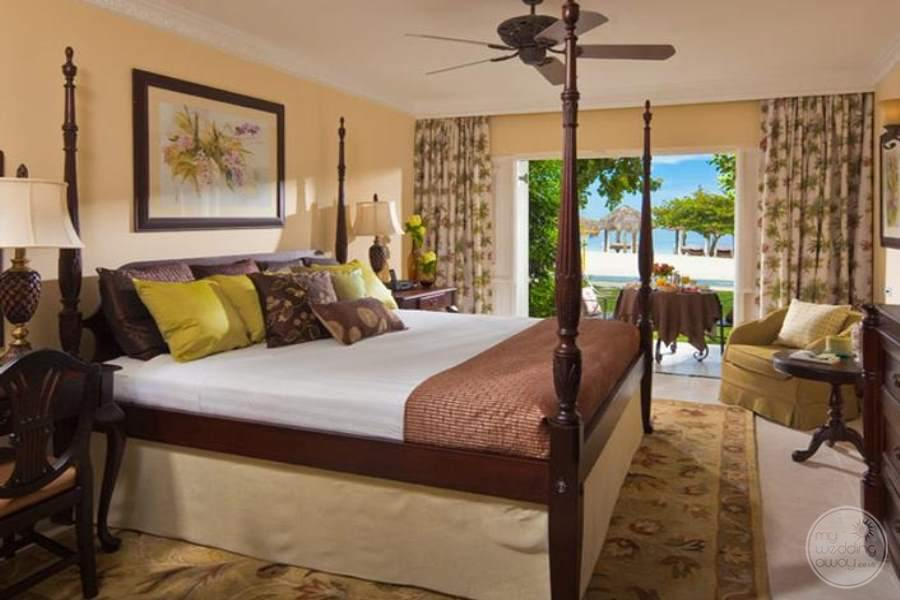 Sandals Montego Bay Honeymoon Beachfront Room