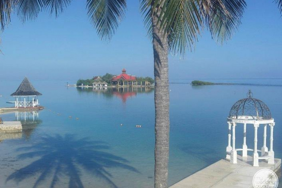 Sandals Royal Caribbean Beach Front Gazebo Wedding Venue