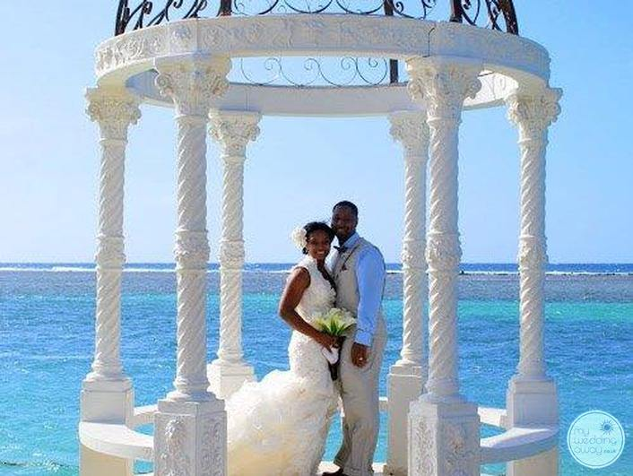 Sandals Royal Caribbean Wedding Gazebo