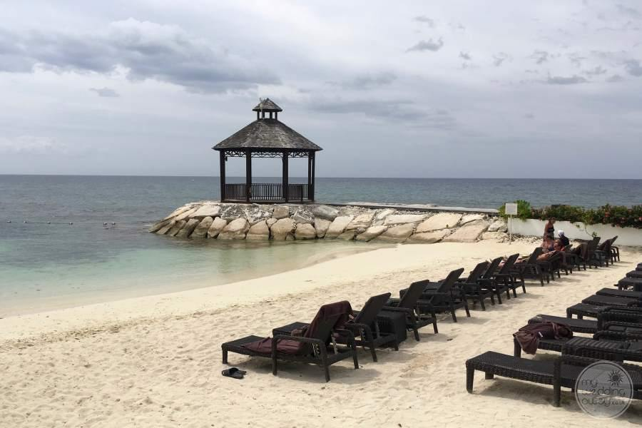 Secrets Wild Orchid Beach Gazebo