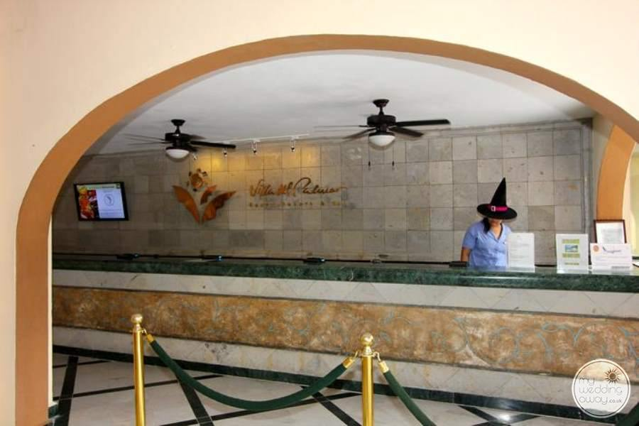 Villa Del Palmar Reception Area