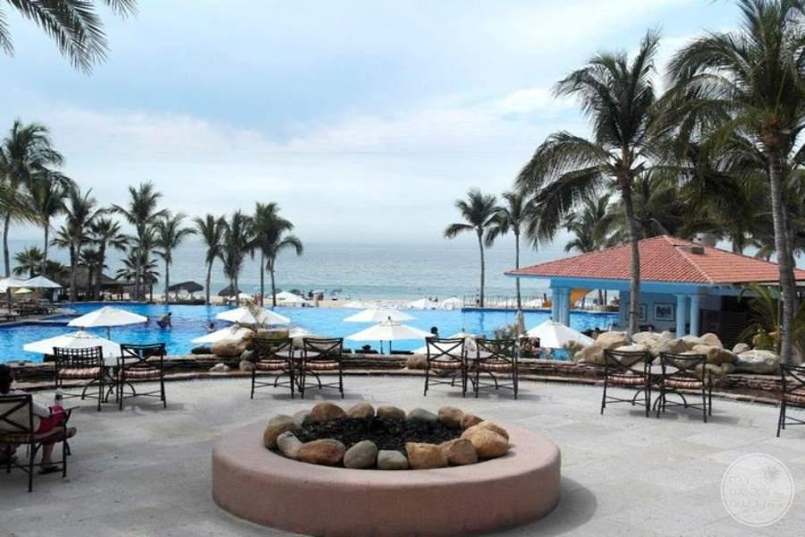 Dreams Los Cabos Fire Pit and Pool