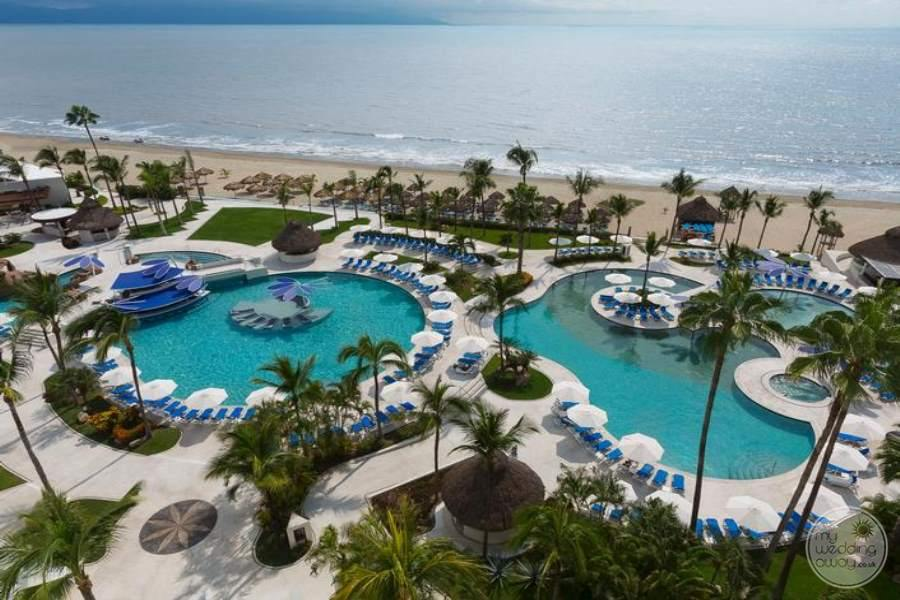 Hard Rock Vallarta Pools