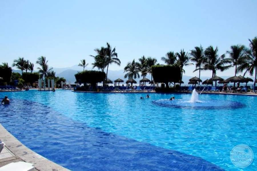 Melia Puerto Vallarta Pool Area