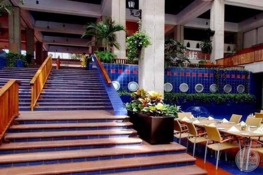 Melia Puerto Vallarta Stairs to Lobby