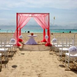 Allegro Playacar Beach Wedding