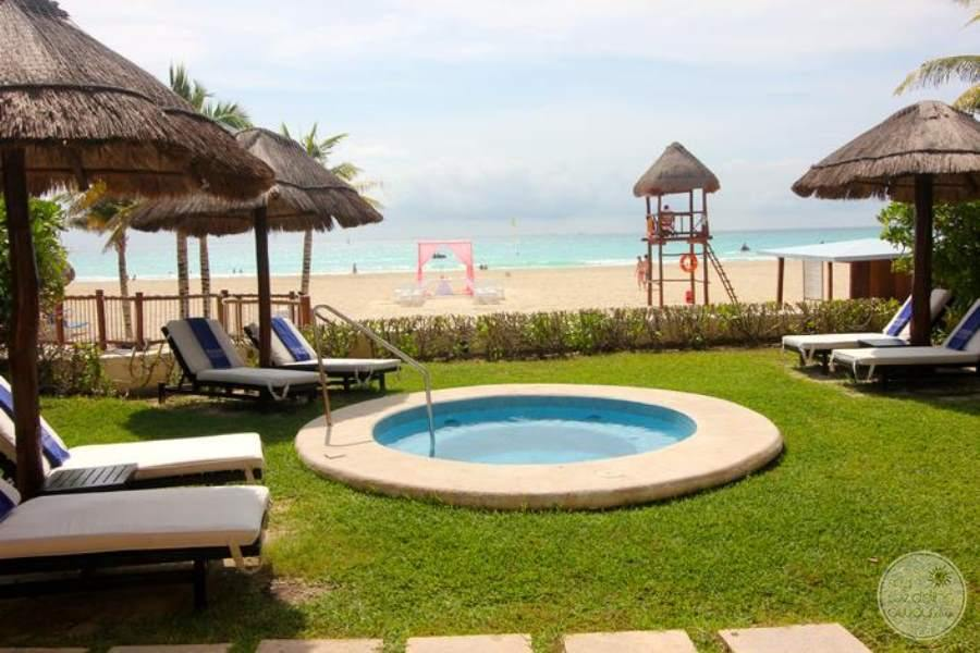 Allegro Playacar Jacuzzi Beach View