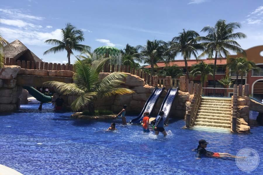 Barcelo Maya Colonial Pool Slides