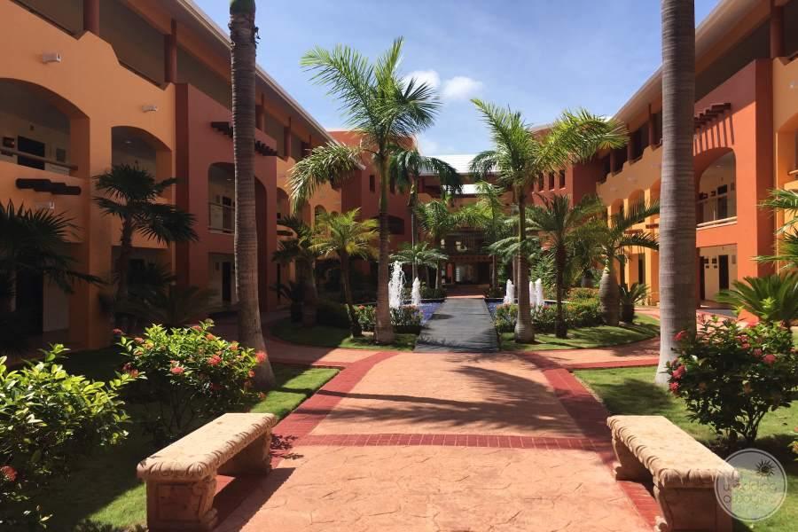 Barcelo Maya Colonial Walkway 2