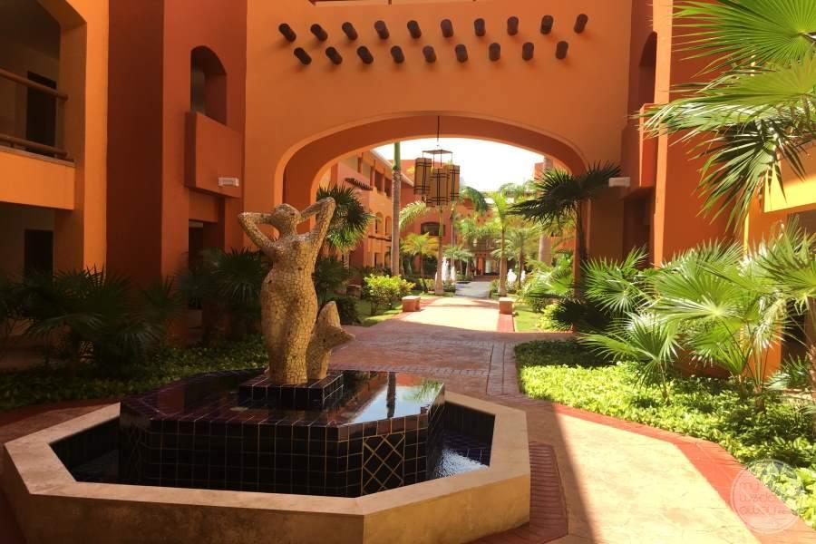 Barcelo Maya Colonial Walkway