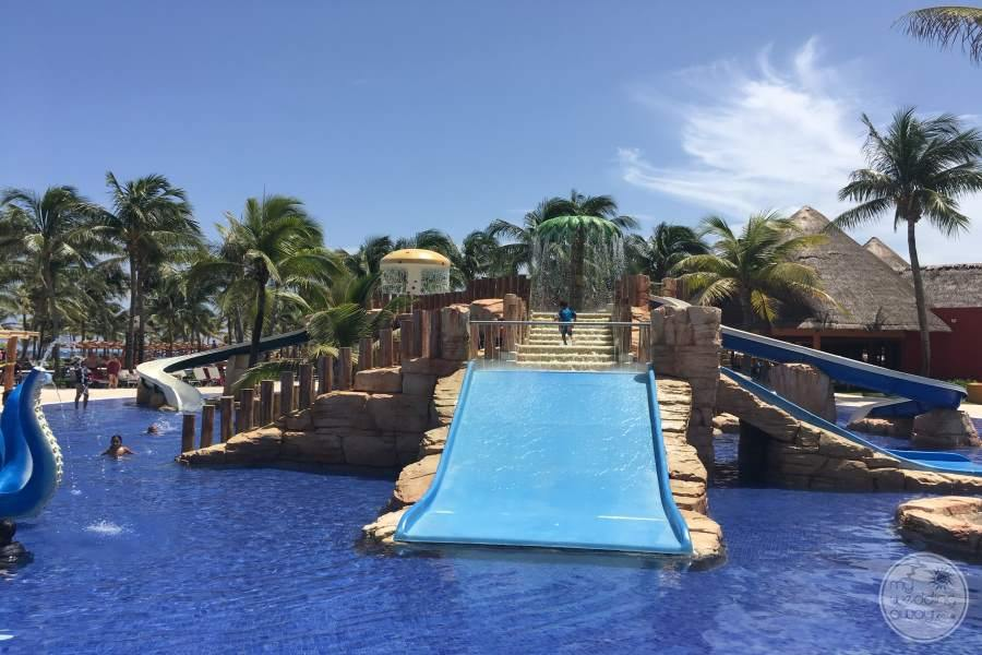 Barcelo Maya Colonial Waterslide