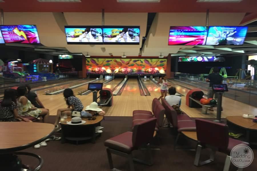 Barcelo Maya Palace Bowling