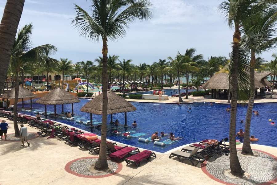 Barcelo Maya Palace Pool View