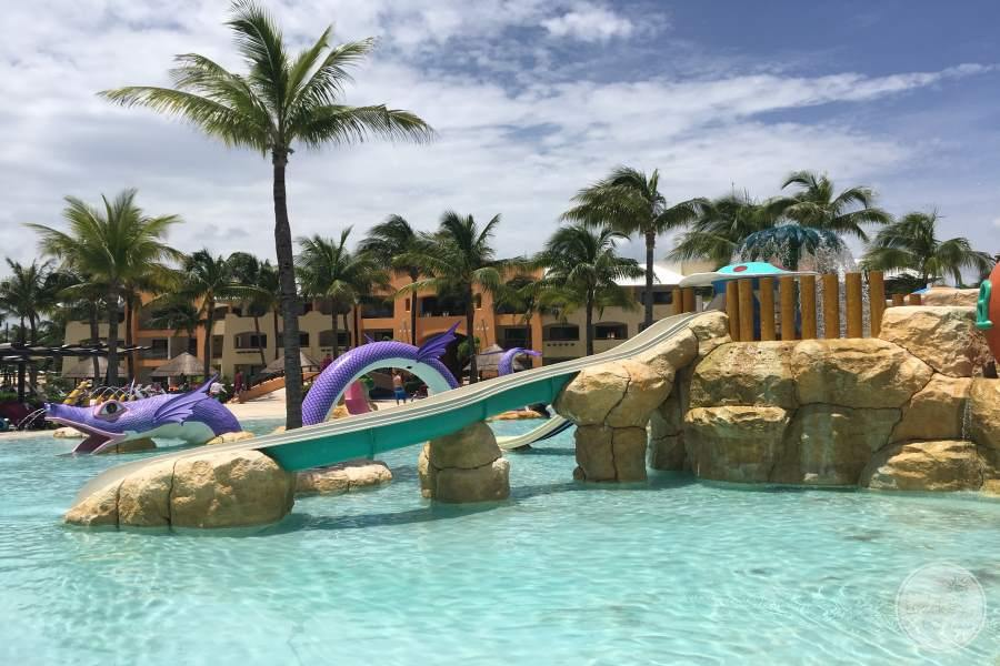 Barcelo Maya Palace Water Slide